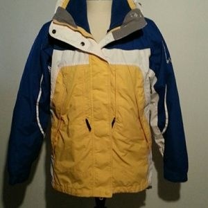 Columbia Parka, 2 pc set, fleece inside jacket